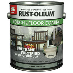 Rust-Oleum® Semi-Gloss Pewter Porch & Floor Coating - 1 gal.