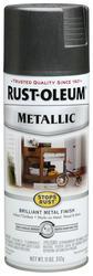 Rust-Oleum® Stops Rust® Metallic Charcoal Spray Paint - 11 oz