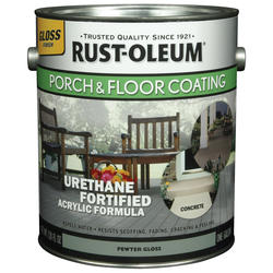 Rust-Oleum® Gloss Pewter Porch & Floor Coating - 1 gal.