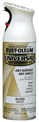 Rust-Oleum® Universal® Gloss White Paint and Primer Spray - 12 oz
