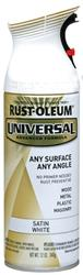 Rust-Oleum® Universal® Satin White Paint and Primer Spray - 12 oz
