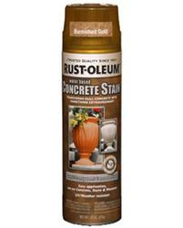 Rust-Oleum® Burnished Gold Concrete Stain and Sealer Spray - 15 oz