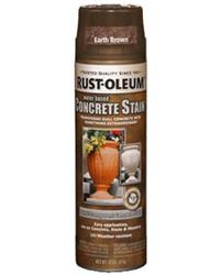 Rust-Oleum® Earth Brown Concrete Stain and Sealer Spray - 15 oz