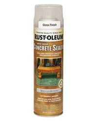 Rust-Oleum® Clear Gloss Concrete Stain and Sealer Spray - 15 oz