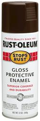 Rust-Oleum® Stops Rust® Gloss French Roast Protective Enamel Spray - 12 oz
