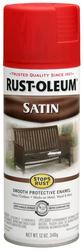 Rust-Oleum® Stops Rust® Satin American Red Protective Enamel Spray - 12 oz