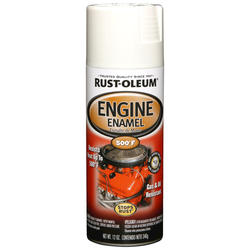 Rust-Oleum® Universal® White Engine Enamel Spray - 12 oz