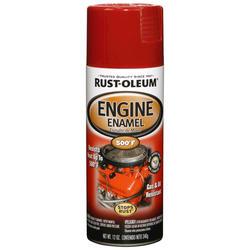 Rust-Oleum® Universal® Red Engine Enamel Spray - 12 oz