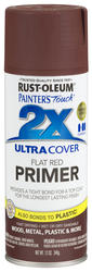 Painter's Touch Ultra Cover 2X Flat Red Primer Spray - 12 oz