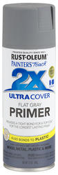 Painter's Touch Ultra Cover 2X Flat Gray Primer Spray - 12 oz