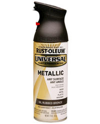 Rust-Oleum® Universal® Metallic Oil-Rubbed Bronze Paint and Primer Spray - 11 oz