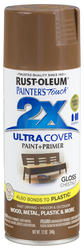 Painter's Touch Ultra Cover 2X Gloss Chestnut Spray Paint - 12 oz