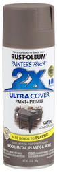 Painter's Touch Ultra Cover 2X Satin London Gray Spray Paint - 12 oz