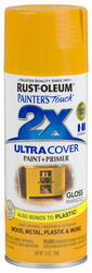 Painter's Touch Ultra Cover 2X Gloss Marigold Spray Paint - 12 oz