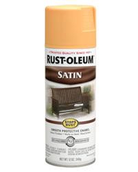 Rust-Oleum® Stops Rust® Satin Amber Protective Enamel Spray - 12 oz