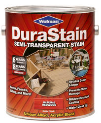 Wolman™ DuraStain® Natural Redwood Semi-Transparent Stain - 1 gal.