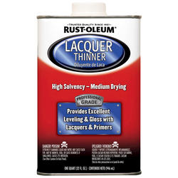 Rust-Oleum® Professional Lacquer Thinner - 1 qt