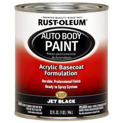 Rust-Oleum® Automotive Jet Black Acrylic Auto Body Paint - 1 qt