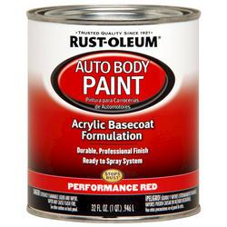 Rust-Oleum® Automotive Performance Red Acrylic Auto Body Paint - 1 qt