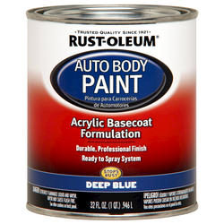 Rust-Oleum® Automotive Deep Blue Acrylic Auto Body Paint - 1 qt