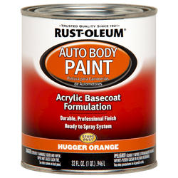 Rust-Oleum® Automotive Hugger Orange Acrylic Auto Body Paint - 1 qt
