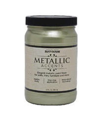 Rust-Oleum® Metallic Accents Luminous Pear Paint - 1 qt