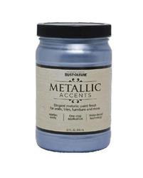 Rust-Oleum® Metallic Accents Harbor Sky Paint - 1 qt