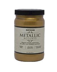Rust-Oleum® Metallic Accents Gold Mine Paint - 1 qt