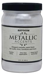 Rust-Oleum® Metallic Accents Sea Shell Paint - 1 qt
