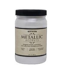 Rust-Oleum® Metallic Accents White Pearl Paint - 1 qt