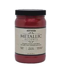 Rust-Oleum® Metallic Accents Scarlet Red Paint - 1 qt