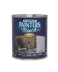Rust-Oleum® Painter's Touch Metallic Silver Paint - 1 qt