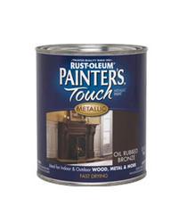 Rust-Oleum® Painter's Touch Metallic Oil-Rubbed Bronze Paint - 1 qt