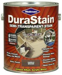 Wolman™ DuraStain® Semi-Transparent Saddle Brown Stain - 1 gal.