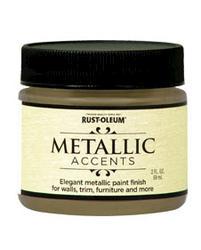 Rust-Oleum® Metallic Accents Soft Gold Paint - 2 oz
