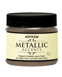 Rust-Oleum® Metallic Accents Champagne Paint - 2 oz