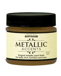 Rust-Oleum® Metallic Accents Gold Mine Paint - 2 oz