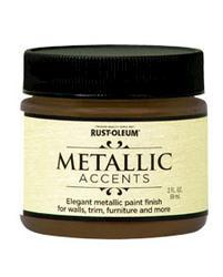 Rust-Oleum® Metallic Accents Bronze Medal Paint - 2 oz
