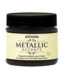 Rust-Oleum® Metallic Accents Rich Brown Paint - 2 oz