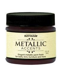 Rust-Oleum® Metallic Accents Black Garnet Paint - 2 oz
