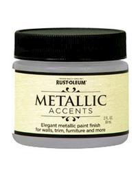 Rust-Oleum® Metallic Accents White Pearl Paint - 2 oz