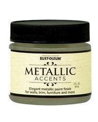 Rust-Oleum® Metallic Accents Luminous Pear Paint - 2 oz