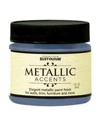 Rust-Oleum® Metallic Accents Harbor Sky Paint - 2 oz