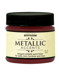 Rust-Oleum® Metallic Accents Scarlet Red Paint - 2 oz