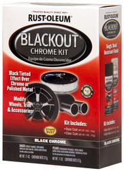 Rust-Oleum® Automotive Blackout Chrome Kit