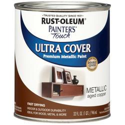 Rust-Oleum® Painter's Touch Metallic Aged Copper Ultra Cover Paint - 1 qt