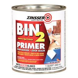 Zinsser® B-I-N 2 Tintable White Primer - 1 qt