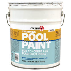Zinsser® White Swimming Pool Paint - 5 gal.