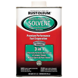Rust-Oleum® Professional 3-in-1 Multi-Purpose Solvent - 1 qt