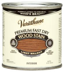 Varathane® Premium Light Walnut Fast Dry Wood Stain - 1/2 pt